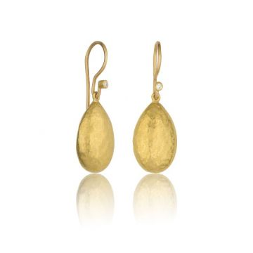 Lika Behar 24k Yellow Gold Diamond Drop Earrings
