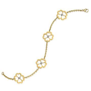 Gumuchian G. Boutique 18k Yellow Gold Diamond Kelly Bracelet