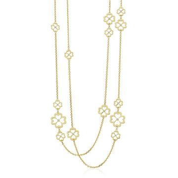 Gumuchian G. Boutique 18k Yellow Gold Diamond Kelly Multi Length Necklace