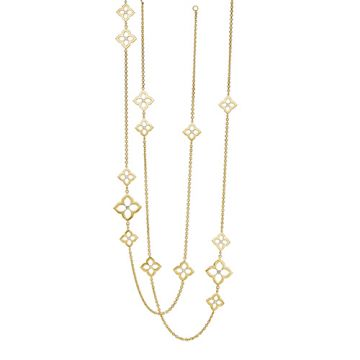 Gumuchian 18k White Gold DIamond Necklace