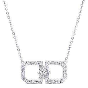Gumuchian Secret Garden 18k Gold Diamond Pendant