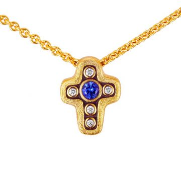 Alex Sepkus 18k Yellow Gold Pendant