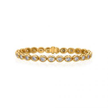Gumuchian Oasis 18k Yellow Gold Diamond Bracelet