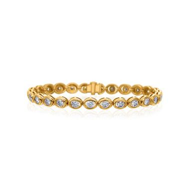 Gumuchian Oasis 18k Yellow Gold Diamond Bracelet