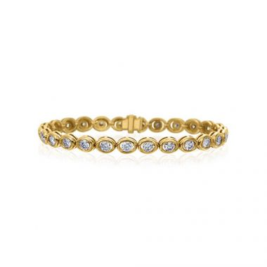 Gumuchian Oasis 18k Yellow Gold Illusion Diamond Bracelet