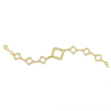 Gumuchian Kite 18k Yellow Gold Diamond Bracelet