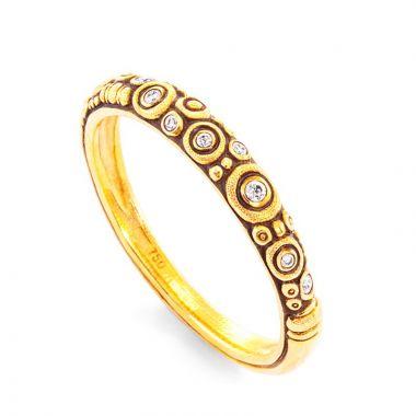 Alex Sepkus 18k Yellow Gold Ring