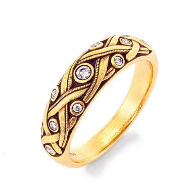 Alex Sepkus 18k Yellow Gold Ring