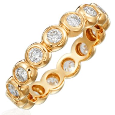 Gumuchian Moonlight 18k Gold Diamond Band Ring