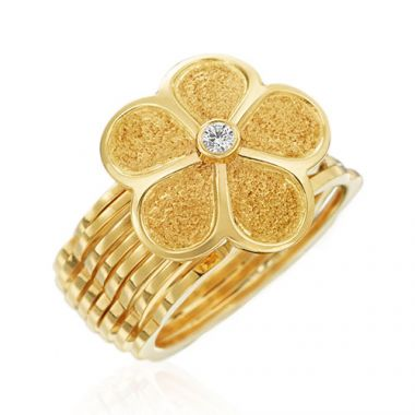 Gumuchian G. Boutique 18k Gold Yellow Diamond Rings