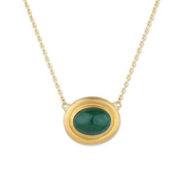 Lika Behar 24k Yellow Gold Gemstone Necklace