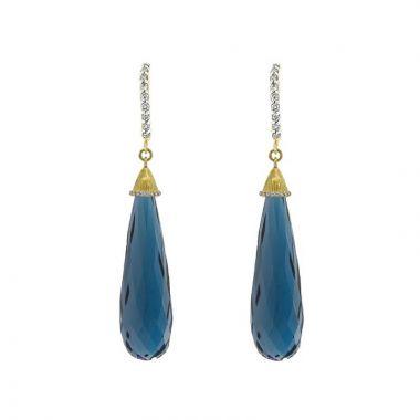 Sloane Street 18k Yellow Gold Earring