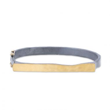 Lika Behar 24k Gold and Sterling Silver Bracelet